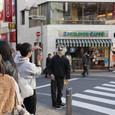 渋谷にいたヘンな狼。