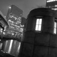 雨の常磐橋
