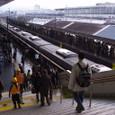 近江路へ。ーー京都駅0番線