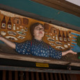 阿佐ヶ谷 居酒屋の芸術的看板