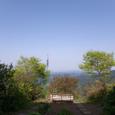 山頂の展望ベンチ